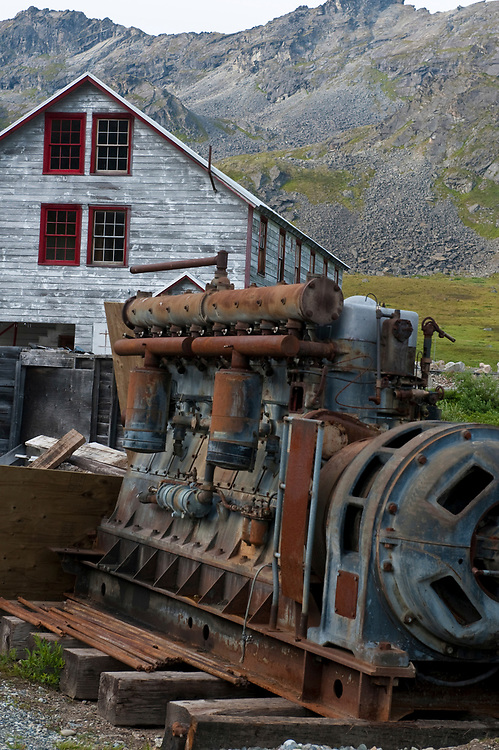 Anchorage, Alaska, USA - Independence Mine State Historical Park in Hatchers Pass.
