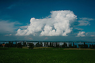Thunderstorm over Lake Constance