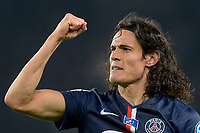 joie de Edinson Cavani (PSG) apres son but
