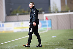 Clyde's interim management team JP McGovern. Clyde 2 v 2 Forfar Athletic, Scottish League Two game played 4/3/2017 at Clyde's home ground, Broadwood Stadium, Cumbernauld.