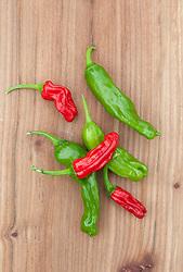 Sweet pepper 'Shishito'