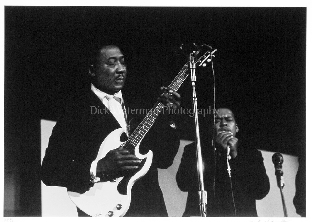 James Cotton and Muddy Waters, New York, 1965