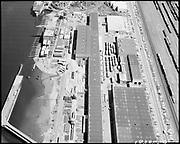 "Ackroyd 18335-09 ""FMC. aerials of yard 1000'. May 29, 1973."" (Gunderson, vicinity of new crane."