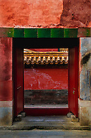 One of the many gateways within the Forbidden City.