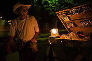 Portrait of a Steet Vendor - Puerto Narino - Amazonas - Colombia