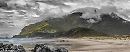Te Whara (Bream Head) from Kauri Mt. Beach - Whangarei Heads.<br /> <br /> Limited edition fine art print.<br /> <br /> Archival Print:  $475.00<br /> Framed: from $950<br /> <br /> Image size L:700mm x H:290mm. <br /> <br /> Large framed print (130 x 70cm) available to view at MD Gallery (12 Rust Ave).<br /> <br /> To order direct, contact Alan through the contact tab above.<br /> <br /> <br /> * p&p free within the Whangarei district.