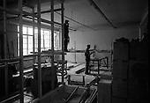 1967 - Computer room under construction at Arnotts