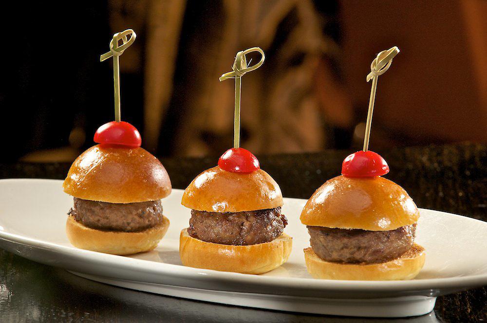 Kobe Slider Trio <br /> Wasabi Ketchup, Spicy Mayo, Dijon Mustard