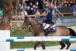 Arroyave Dayro, COL, Uciano de la Botte<br /> CSI1* Grand Prix<br /> Jumping Antwerpen 2017<br /> © Hippo Foto - Dirk Caremans<br /> 22/04/2017