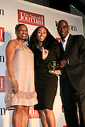 Rosalind Mclymont, Michelle Murray and Aziz Gueye Adetimirin at The Network Journal 40 under Forty 2008 Achievement Awards held at the Crowne Plaza Hotel on June 12, 2008