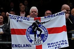 Bristol Rovers fan - Photo mandatory by-line: Dougie Allward/JMP - Mobile: 07966 386802 26/04/2014 - SPORT - FOOTBALL - High Wycombe - Adams Park - Wycombe Wanderers v Bristol Rovers - Sky Bet League Two