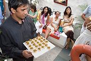 Brunch at the restaurant Olive, Bandra West, Bombay (Mumbai), Indien