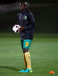 Musa Bilankulu of Golden Arrows during the 2016 Premier Soccer League match between Golden Arrows and Cape Town City FC held at the Prince Magogo Stadium in Durban, South Africa on the 14th September 2016<br /> <br /> Photo by:   Steve Haag / Real Time Images