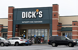 Outside view of a Dick's Sporting Goods store in Arlington, Virginia , March 1, 2018. Photo by Olivier Douliery/Abaca Press