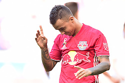 September 30, 2018 - Harrison, New Jersey, USA - New York Red Bulls Midfielder  ALEJANDRO GAMARRA (10) reacts to his penalty miss at Red Bull Arena in Harrison New Jersey New York defeats Atlanta 2 to 0 (Credit Image: © Brooks Von Arx/ZUMA Wire)
