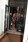 NATALIA VODIANOVA, Vogue: Fashion's Night Out: Stella McCartney. Stella McCartney, 30 Bruton Street, London. 8 September 2010.  -DO NOT ARCHIVE-© Copyright Photograph by Dafydd Jones. 248 Clapham Rd. London SW9 0PZ. Tel 0207 820 0771. www.dafjones.com.