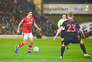 Kenny Dougall of Barnsley (4) in action during the EFL Sky Bet League 1 match between Barnsley and Sunderland at Oakwell, Barnsley, England on 12 March 2019.