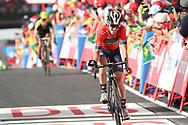 Ion Izagirre (ESP - Bahrain - Merida), during the UCI World Tour, Tour of Spain (Vuelta) 2018, Stage 9, Talavera de la Reina - La Covatilla 200,8 km in Spain, on September 3rd, 2018 - Photo Luis Angel Gomez / BettiniPhoto / ProSportsImages / DPPI