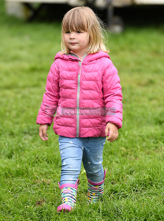 Zara, Mike and Mia Tindall attend The Bramham International Horse Trials at Bramham Park, Wetherby, Yorkshire, UK, on the 10th June 2017. 10 Jun 2017 Pictured: Mia Tindall. Photo credit: James Whatling / MEGA TheMegaAgency.com +1 888 505 6342