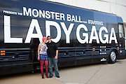 Atmosphere at Lady Gaga's performance at the Scottrade Center in St. Louis on July 17, 2010
