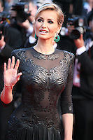 Adriana Karembeu at the 'Behind The Candelabra' gala screening at the Cannes Film Festival  Tuesday 21 May 2013