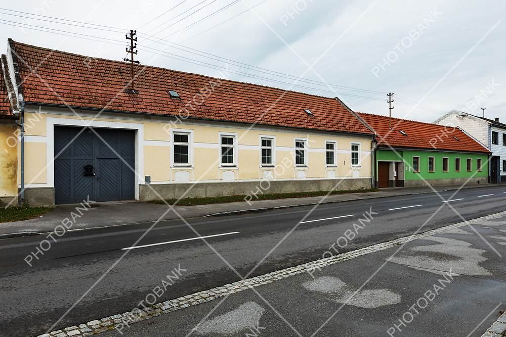 House in suburbs of Bratislava. Nobody