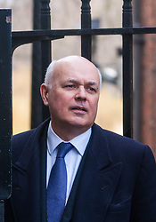 London, February 3rd 2015. Members of the cabinet gather at Downing Street for their weekly meeting. PICTURED: Iain Duncan-Smith, Secretary of State for Work and Pensions