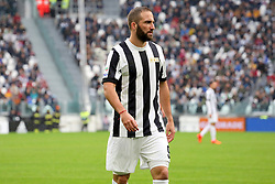 November 5, 2017 - Turin, Italy - Gonzalo Higuain (Juventus FC)  during the Serie A football match between Juventus FC and Benevento Calcio on 05 November 2017 at Allianz Stadium in Turin, Italy. (Credit Image: © Massimiliano Ferraro/NurPhoto via ZUMA Press)