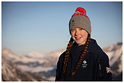 Team GB's Kirsty Muir during the Lausanne 2020 Youth Olympic Games at Leysin Park & Pipe  in Switzerland. January 2020