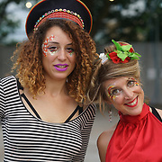 London, England, UK. 16th July 2017. Face and Body Painting attend the Citadel Festival at Victoria Park