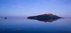 Holy Isle off Lamlash Bay Arran