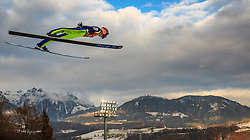 06.01.2016, Paul Ausserleitner Schanze, Bischofshofen, AUT, FIS Weltcup Ski Sprung, Vierschanzentournee, Bischofshofen, Finale, im Bild Manuel Fettner (AUT) // Manuel Fettner of Austria during the Final of the Four Hills Tournament of FIS Ski Jumping World Cup at the Paul Ausserleitner Schanze in Bischofshofen, Austria on 2016/01/06. EXPA Pictures © 2016, PhotoCredit: EXPA/ JFK