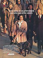 Nabisco, Blind Women walking in crowd