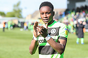 Forest Green Rovers Shawn McCoulsky(21) during the EFL Sky Bet League 2 match between Forest Green Rovers and Exeter City at the New Lawn, Forest Green, United Kingdom on 4 May 2019.