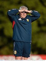 27 June 2013; British & Irish Lions head coach Warren Gatland during squad training ahead of their 2nd test match against Australia on Saturday. British & Irish Lions Tour 2013, Squad Training. Scotch College, Hawthorn, Melbourne, Australia. Picture credit: Stephen McCarthy / SPORTSFILE