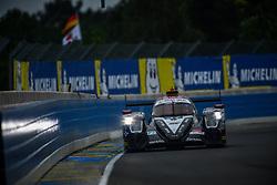 June 14, 2018 - Le Mans, FRANCE - 37 JACKIE CHAN DC RACING (CHN) ORECA 07 GIBSON LMP2 JAZEMAN JAAFAR (MYS) WEIRON TAN (MYS) NABIL JEFFRI  (Credit Image: © Panoramic via ZUMA Press)