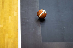 Basketball Ball outside of the court, August 2021 in Debrece, Hungary, Slovenia. Photo by Vid Ponikvar / Sportida
