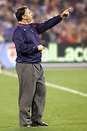 10 February 2006: Bruce Arena, head coach of the United States. The United States Men's National Team defeated Japan 3-2 at SBC Park in San Francisco, California in an International Friendly soccer match.