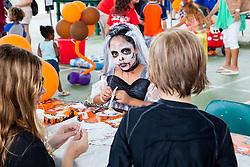 Zombie Bride Leah Parker.  Virgin Islands Montessori School and Peter Gruber International Academy hosts Fall Fest 2015.  St. Thomas, USVI.  31 October 2015.  © Aisha-Zakiya Boyd