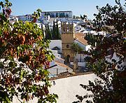 Historic church Iglesia de Nuestro Padre Jesus in the new town of Ronda, Spain