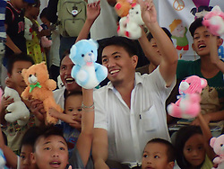 July 3, 2017 - Marawi City, Philippines - Toys and coloring books were given to kids who are displaced by the insurgency in Marawi City. (Credit Image: © Sherbien Dacalanio/Pacific Press via ZUMA Wire)