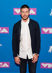 August 21, 2018 - New York City, New York, USA - 8/20/18.Vinny Guadagnino at the 2018 MTV Video Music Awards at Radio City Music Hall in New York City. (Credit Image: © Starmax/Newscom via ZUMA Press)
