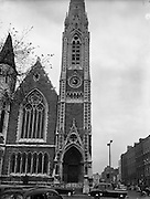 29/10/1957<br /> 10/29/1957<br /> 29 October 1957<br /> Exterior view of Findlater's Church (Abbey Presbyterian Church) on Parnell Square, Dublin.