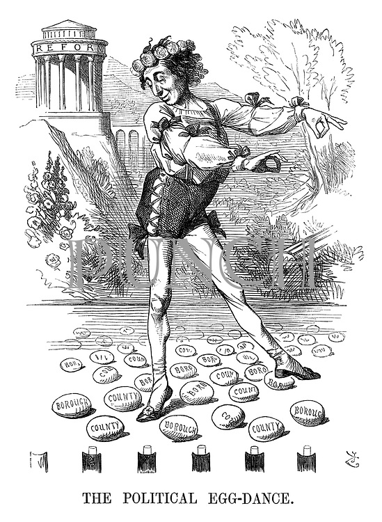 The Political Egg-dance.