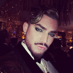 """Adam Lambert releases a photo on Instagram with the following caption: """"Happy NEW YEAR 2019\ud83d\udc8e"""". Photo Credit: Instagram *** No USA Distribution *** For Editorial Use Only *** Not to be Published in Books or Photo Books ***  Please note: Fees charged by the agency are for the agency's services only, and do not, nor are they intended to, convey to the user any ownership of Copyright or License in the material. The agency does not claim any ownership including but not limited to Copyright or License in the attached material. By publishing this material you expressly agree to indemnify and to hold the agency and its directors, shareholders and employees harmless from any loss, claims, damages, demands, expenses (including legal fees), or any causes of action or allegation against the agency arising out of or connected in any way with publication of the material."""