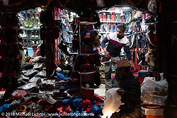 The Thamel district of Kathmandu after our Himalayan motorcycling adventure, Nepal. Friday, November 16, 2018. Photography ©2018 Michael Lichter.