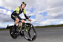 March 7, 2018 - Saint Etienne, France - SAINT-ETIENNE, FRANCE - MARCH 7 : TRENTIN Matteo  (ITA)  of Mitchelton - Scott in action during stage 4 of the 2018 Paris - Nice cycling race, an individual time trial over 18,4 km from La Fouillouse to Saint-Etienne on March 07, 2018 in Saint-Etienne, France, 7/03/2018 (Credit Image: © Panoramic via ZUMA Press)
