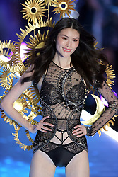 November 8, 2018 - New York, New York, United States - Adriana Lima walks in the 2018 Victoria's Secret runway show at Pier 94 on November 8 2018 in New York City  (Credit Image: © Philip Vaughan/Ace Pictures via ZUMA Press)