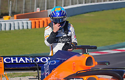 March 7, 2018 - Barcelona, Spain - the incident of the McLaren of Fernando Alonso during theFormula 1 tests at the Barcelona-Catalunya Circuit, on 07th March 2018 in Barcelona, Spain.  Photo: Joan Valls/Urbanandsport /NurPhoto. (Credit Image: © Urbanandsport/NurPhoto via ZUMA Press)