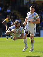 Worcester Warriors v Exeter Chiefs 120414